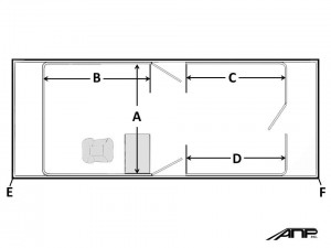 How to measure for a pontoon furniture